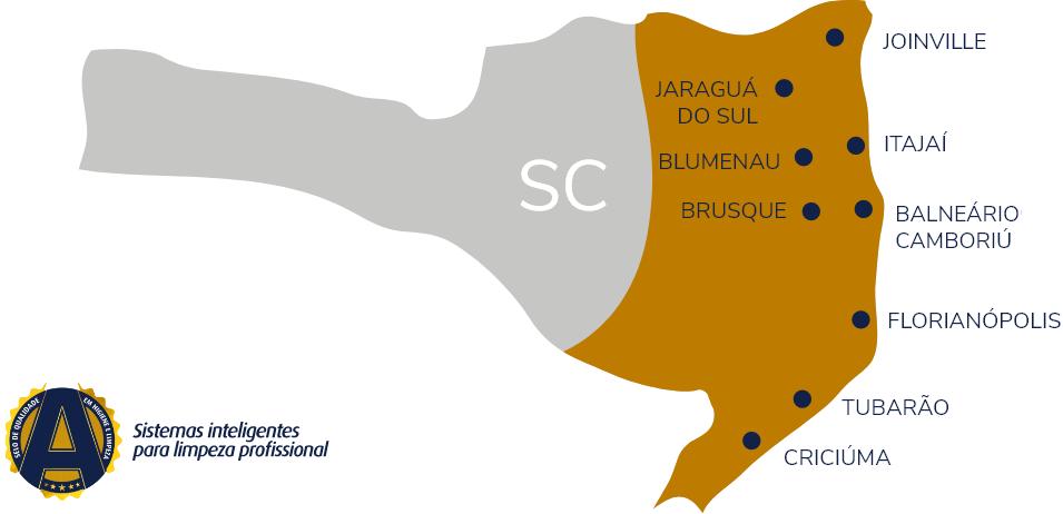 Mapa Higiepro